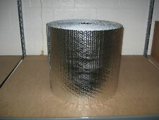 "3/16"" Double Foil Bubble Insulation Reflective Wrap - 16"" X 125'"