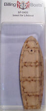 Billing Boats Accessory BF-0405 2 x 31mm x 95mm Wooden Lifeboat Inserts New Pack