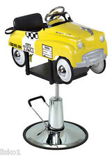 Pibbs 1806 Taxi Cab Car Styling Barber Chair for Kids