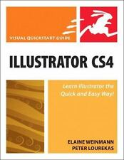 Illustrator CS4 for Windows and Macintosh: Visual QuickStart Guide by Lourekas,