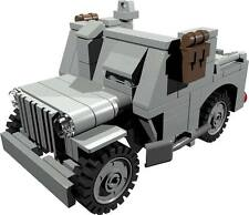 CUSTOM building INSTRUCTION - WILLYS JEEP armoured to build out of LEGO® parts