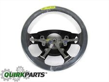 DODGE DURANGO RAM 1500 2500 3500 LEATHER WRAPPED STEERING WHEEL MOPAR GENUINE
