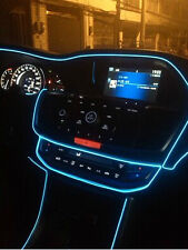 Crystal Blue 5 Meter Interior Refit  Car Stlying EL wire light for Ford