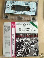 THE EXPLOITED - Totally Exploited MC RARE 1'ST POLISH PRESS 1991
