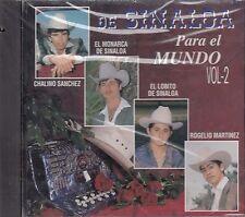 Chalino Sanchez El Monarca El Lobito De Sinaloa Para El Mundo Vol2 CD New