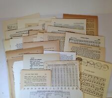 100 VINTAGE EPHEMERA NOVEL BOOK PAGES LOT PAPER PACK NEUTRAL FOR COLLAGE, ART