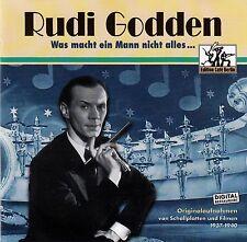 RUDI GODDEN : WAS MACHT EIN MANN NICHT ALLES... / CD - TOP-ZUSTAND