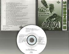 STRANDED Do it How u Wanna w/ RADIO VERSION & stay Tru CD single Papoose TONY G