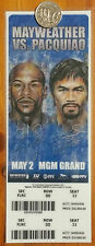 * MAYWEATHER vs PACQUIAO May 2, 2015 Fight of the Century Boxing Ticket Repo  *