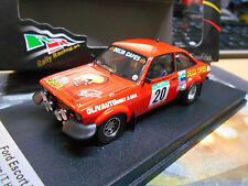 FORD Escort MKII RS 1800 2.0 Rallye Portugal 1982 #20 Wilson Delta Cafes T 1:43