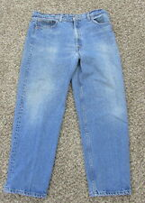 Men's Vintage Levis 555 Relaxed Fit  Straight Leg Jeans Made in USA 40x30