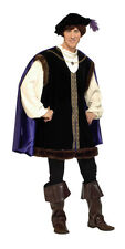 ADULTS MENS RENAISSANCE FAIRE NOBLE LORD FANCY DRESS COSTUMES - MEDIUM 42/44