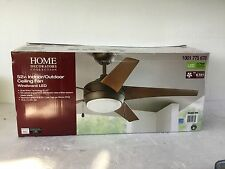 Home Decorators Collection 52in Indoor/Outdoor Ceiling Fan Windward LED