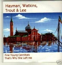 (165W) Hayman, Watkins, Trout & Lee, Fine Young.- DJ CD