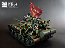 Resin soldier 1/35 resin figure chinese soldier in vietnam war 9 figures