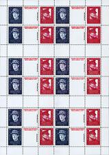 """VIGNETTE VARIETE IMPRESSION """"70 ans D-DAY / DE GAULLE & CHURCHILL / WWII"""" 2014"""