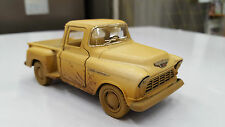 Chevy Stepside pick-up amarillo kinsmart modelo de juguete 1/32 escala