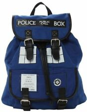 Doctor Who Tardis Police Call Box Buckle Slouch Backpack Dr. Who Shoulder Bag
