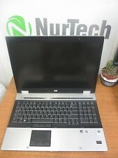 HP EliteBook 8730w Core2Duo 2.66ghz 4gb 120gb DVD-RW Web-Cam  Laptop w/ AC