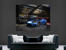 HONDA S2000 CAR TUNING GARAGE FAST CAR SPEED  ART PICTURE PRINT LARGE HUGE