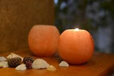 Crystal HIMALAYAN SALT Lamp Candle Block Light Rock Air Therapy Purifier Natural