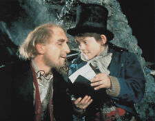 RON MOODY Signed In Person 10x8 Photo OLIVER Proof COA