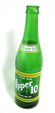 """NEHI Products King Size Upper 10 Bottle 12 oz Green Glass Duraglas 7D 9.75""""tall"""