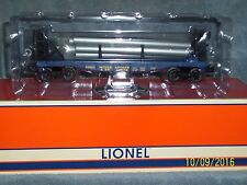 LIONEL 6-26650 FLATCAR WITH PIPES MINNEAPOLIS #26650
