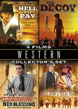 Western Collector's Set: Four Feature Films, New DVD, Lee Majors, Willie Nelson,