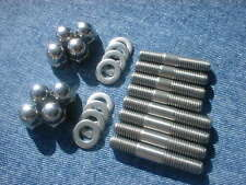Kawasaki ZR750 (ZR-7, ZR-7S) '91 - '05 Stainless Steel Exhaust Stud Set