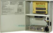 CCTV SECURITY CAMERA POWER Supply Distribution Box 12V DC 8ch 13 Amps PTC Fuse