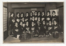 PHOTO ANCIENNE JAPON Groupe Costumes traditionnels Yimaeda 1940 ? JAPAN Geisha