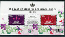 Dutch Caribbean St Eustatius & Bonaire 2016 MNH Kingdom of Netherlands 2v M/S