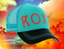 New Roxy Dig This Jade Trucker Mesh Snapback Cap Hat
