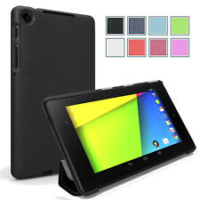 Poetic Slimline Slim-Fit Trifold Case for Google Nexus 7 FHD 2nd Gen 2013 Black