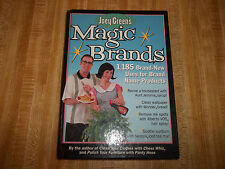 VG, Joey Green's Magic Brands - 1,185 Brand-new Uses For Brand Name Products, Jo