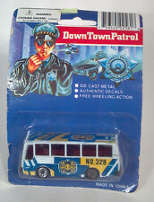 "DD 3"" Down Town Patrol Police Bus Prisoner Transport No 328 Die Cast Scale Model"