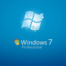 ORIGINALE di Windows 7 PRO 32/64bit OEM Genuine CODICE di licenza PC di scarto