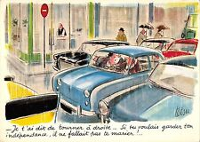 B98959 car voiture tetsu iderea   comics seaside humor