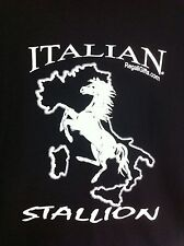 Italian Stallion Horse Shirt T-Shirt XX Large 2X Men Stallions Clothing Mens New