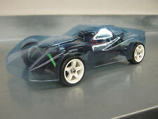 VINTAGE VETTE GREEN WOOD  BODY for traxxas 1/16th rally chassis