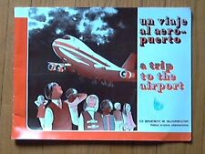 FAA DOT A Trip To The Airport Pictures Diagrams Vocabulary paperplane 1979