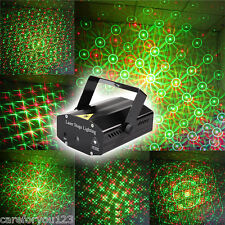 Mini LED R&G Red Green Laser Projector Stage Lighting DJ Disco Party Club Light