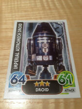 STAR WARS Force Awakens - Force Attax Trading Card #052 Imperial Astromech Droid