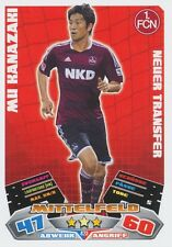 MU KANAZAKI # JAPAN FC.NURNBERG CARD MATCH ATTAX BUNDESLIGA 2013