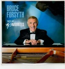 (DN167) Bruce Forsyth, These Are My Favourites - 2011 DJ CD