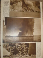 Photo article war bombing of Rangoon Burma 1942 WW2