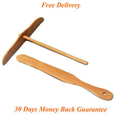 Commercial Crepe Maker Pancake Machine Wooden Kit Spreader and Spatula