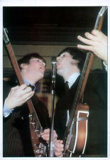 THE BEATLES POSTER PAGE . 1964 JOHN LENNON & PAUL MCCARTNEY. K3