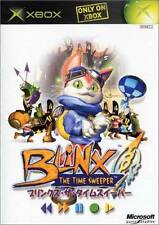Blinx - The Time Sweeper Microsoft XBOX Japan Import NEW sealed K41-00009